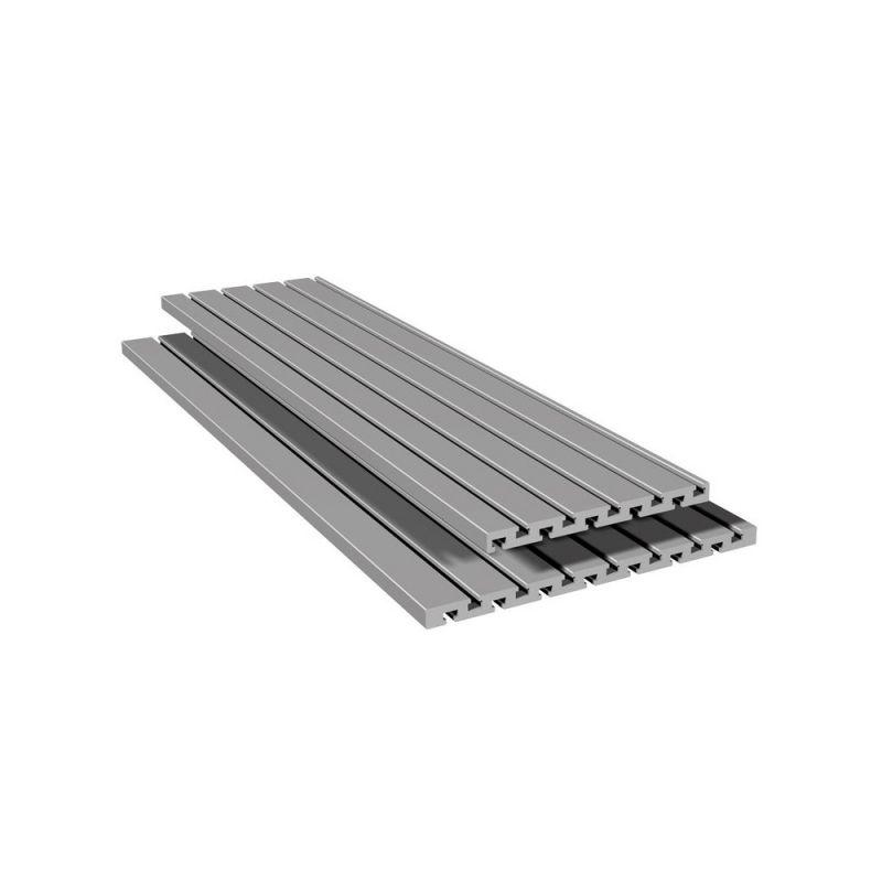 Верстатний алюмінієвий профіль 15х180, 2000 мм