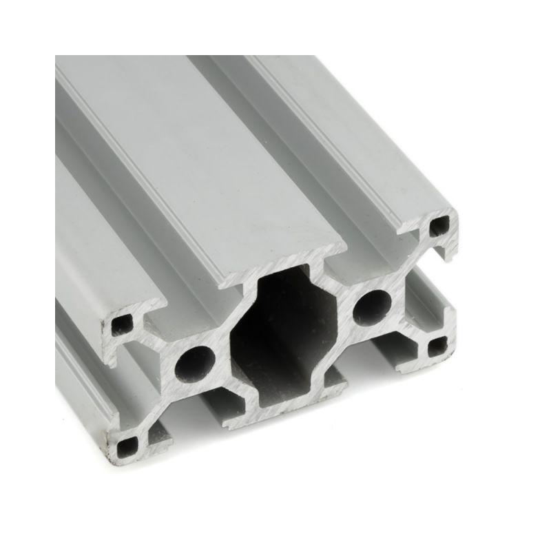 Верстатний алюмінієвий профіль 40х80, 2000 мм