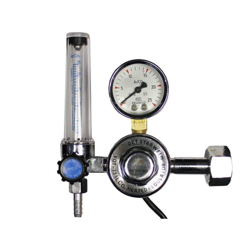 Редуктор універсальний газовий У-30-1 П 220V з підігрівачем газу та ротаметром