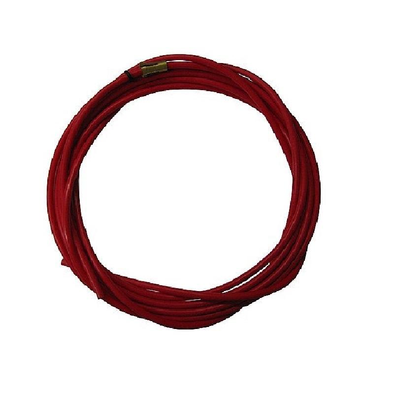 Канал тефлоновий червоний (бауден) для дроту AL 1.0-1.4 мм, 1 м (125.0006)