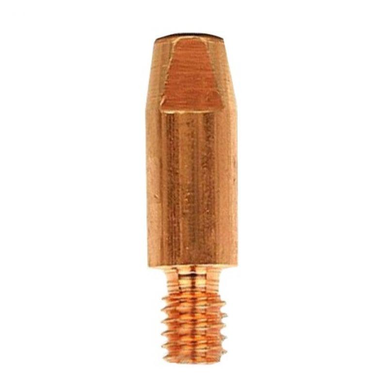 Наконечник AL М6, D1.2/8.0/28 мм для пальника MIG/MAG (141.0010)