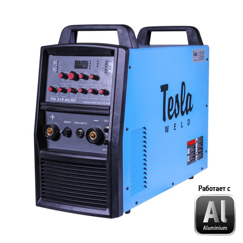Апарат аргонодугового зварювання Tesla Weld TIG/MMA 315 WCH